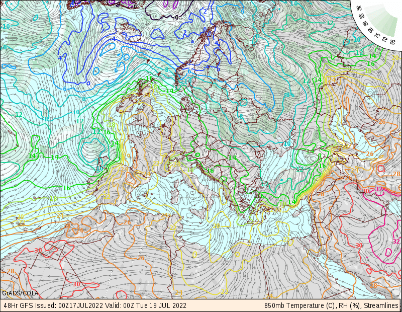 Европа, Т+48