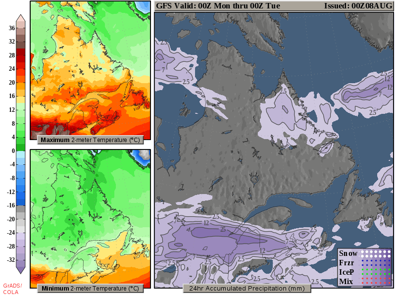 Map Of Canada Today.Regional Surface Maps